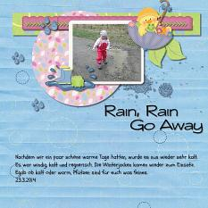 Layout Made With Scrapsimple Digital Layout Templates:April Showers By Charly Renay