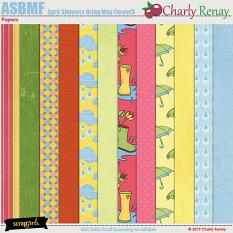 April Showers Bring May Flowers Papers By Charly Renay