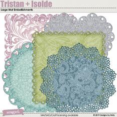 Tristan + Isolde Mat Embellishments by Designs by Helly