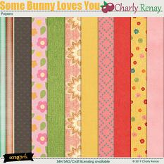 Some Bunny Loves You Papers By Charly Renay