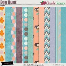 Egg Hunt Papers By Charly Renay