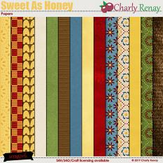 Sweet As Honey Papers By Charly Renay