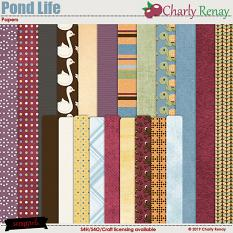 Pond Life Papers By Charly Renay
