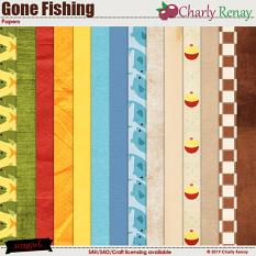 Gone Fishing Papers By Charly Renay