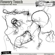 layout using Value Pack: Flowery Touch by Florju Designs