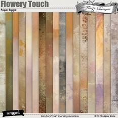 Flowery Touch Papers Biggie by Florju Designs