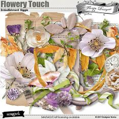 Flowery Touch Embellishments Biggie By Florju Designs