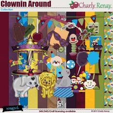 Clownin Around Collection By Charly Renay