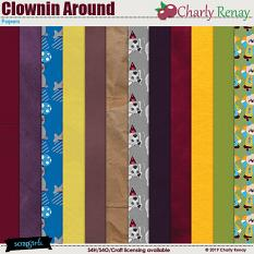 Clownin Around Papers By Charly Renay