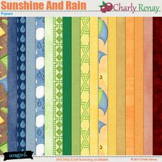 Sunshine And Rain Papers By Charly Renay