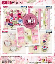 My Love Value Pack by Aftermidnight Design