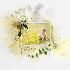 Layout using ScrapSimple Digital Layout Collection:Wonderful Life