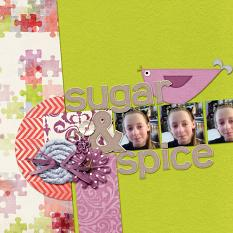 """Sugar and Spice"" layout by Cheré"