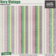 Very Vintage Extra Papers