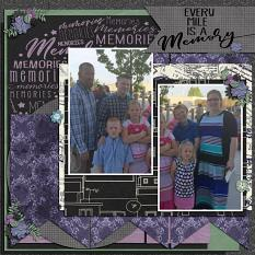 The Journey of a Lifetime Sample Layout
