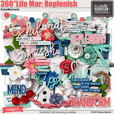 360°Life Mar: Replenish Embellishments