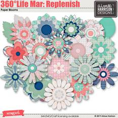 360°Life Mar: Replenish Blooms