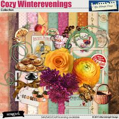 Cozy Winterevenings Collection by Aftermidnight Design