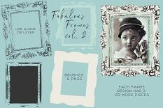 Fabulous Frames Vol. 2 Digital Brushes Sample