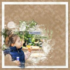 layout uisng Nature Collection Biggie by Florju Designs