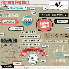 Picture Perfect Word Art