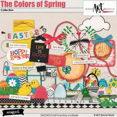 The colors of Spring Elements