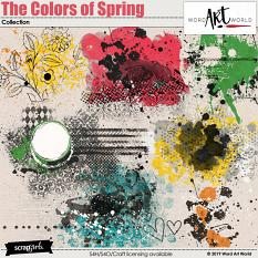 The Colors of Spring Messy Extras