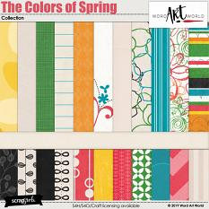 The Colors of Spring Papers