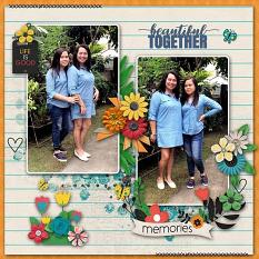 The Colors of Spring Sample Layout