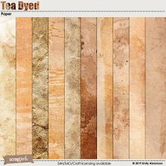 Tea Dyed Paper