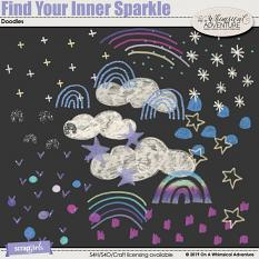Find Your Inner Sparkle Doodles by On A Whimsical Adventure