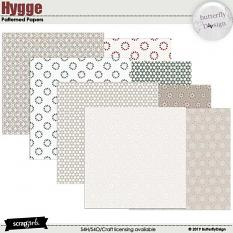 Hygge Patterned papers