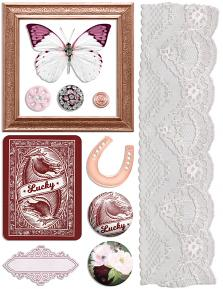 Lucky Me Embellishment Sheet 02