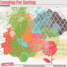 Longing For Spring Backsplashes by Designs by Helly