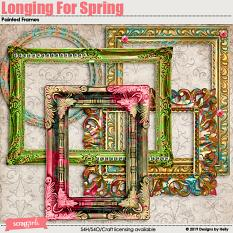 Longing For Spring Frames by Designs by Helly