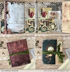 The Powers Of Time Junk Journal Kit by On A Whimsical Adventure