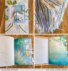 Be A Unicorn Junk Journal Kit by On A Whimsical Adventure