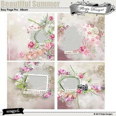 layout using Value Pack: Beautiful Summer by Florju designs
