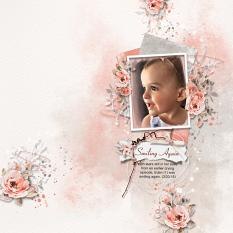 Layout using ScrapSimple Digital Layout Collection:Special Moment