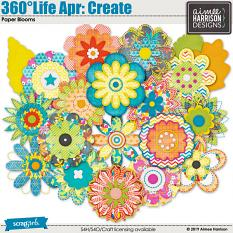 360°Life Apr: Create Blooms