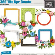 360°Life Apr: Create Frame Clusters