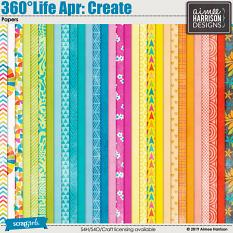 360°Life Apr: Create Papers