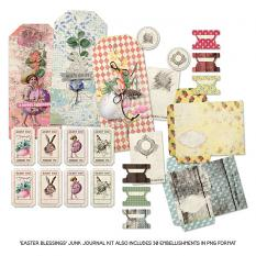 Easter Blessings Junk Journal Kit by On A Whimsical Adventure