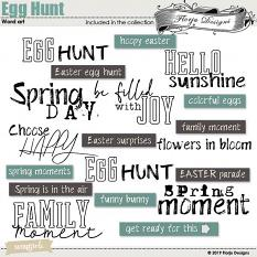 layout  using Value Pack : Egg Hunt by florju designs