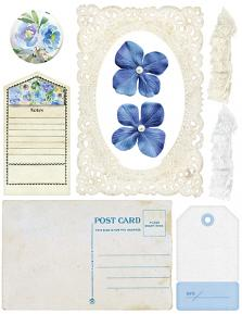 True Blue Collection by DRB Designs - Embellishment Sheet 03