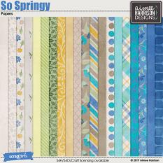 So Springy Papers
