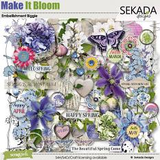 Make It Bloom Embellishment Biggie