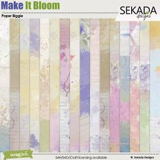 Make It Bloom Paper Biggie