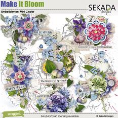 Make It Bloom Embellishment Mini Cluster