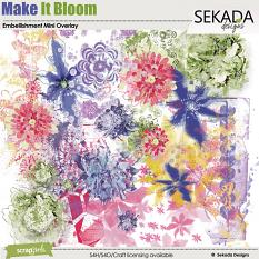 Make It Bloom Embellishment Mini Overlay